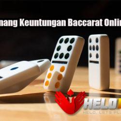 Peluang Menang Keuntungan Baccarat Online Uang Asli